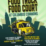 Food Truck Food Court Logo Columbus Commons
