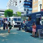 Food Trucks at Food Truck Food Court Columbus Ohio